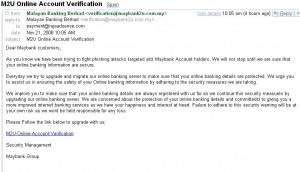 Email Phising lagi