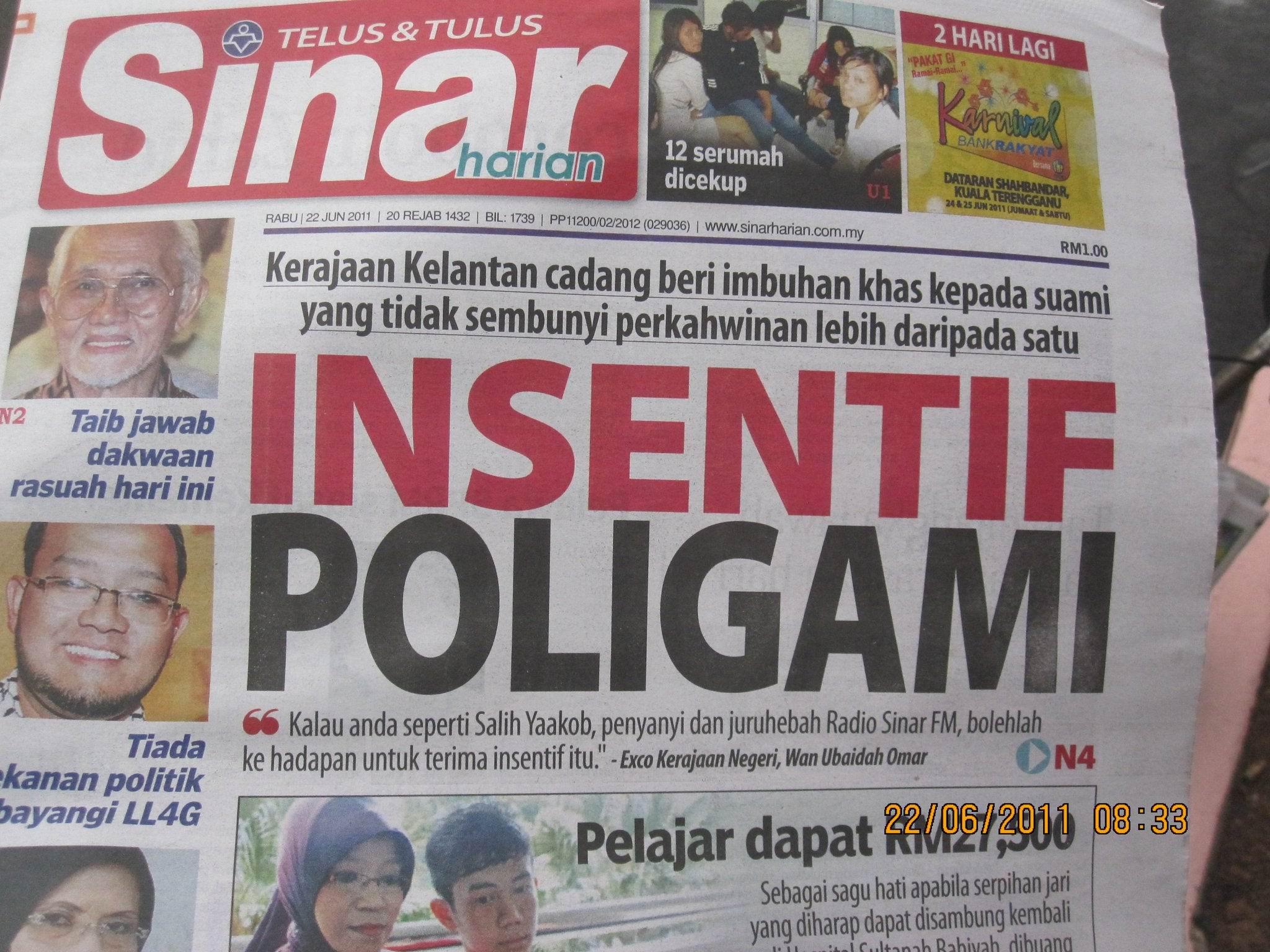 insentif poligami