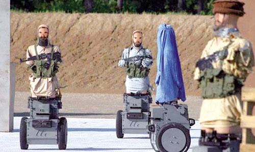 robot pengganas