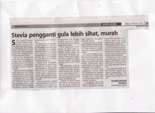 artikel stevia