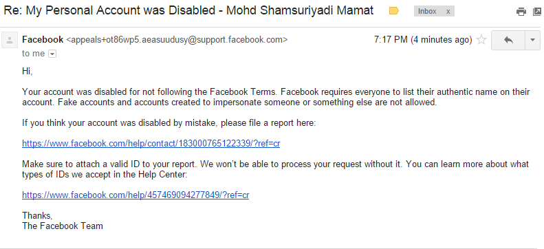 fb disable