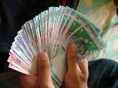 kipas duit