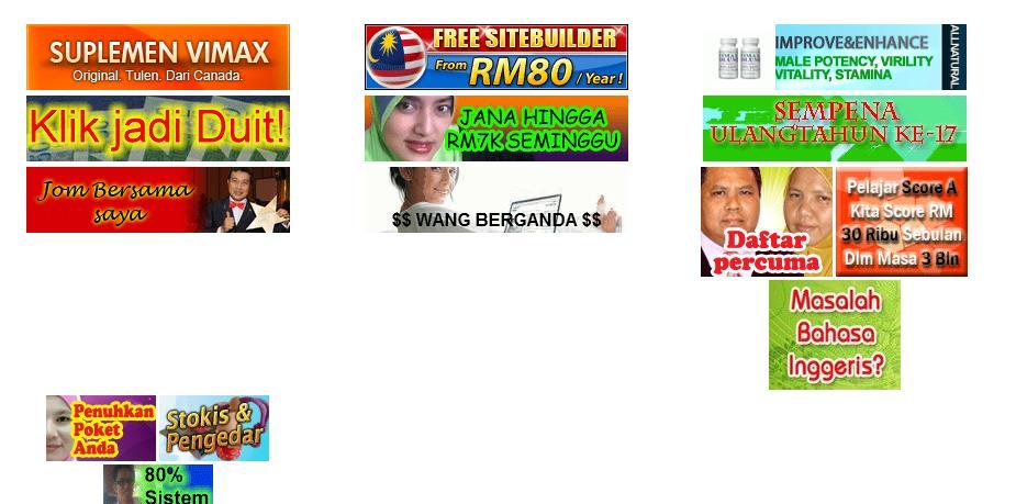 Iklan banner berita harian online