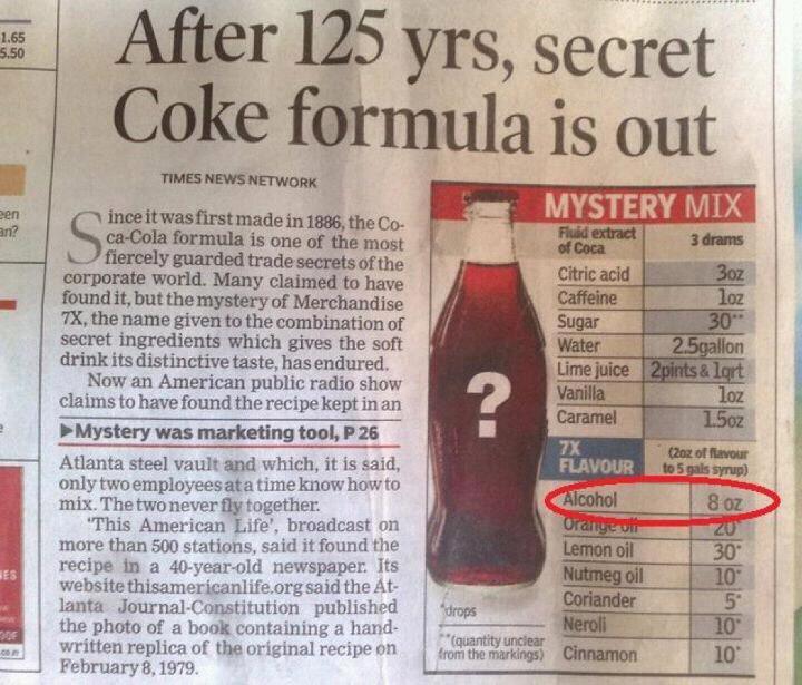 Resepi Coca Cola